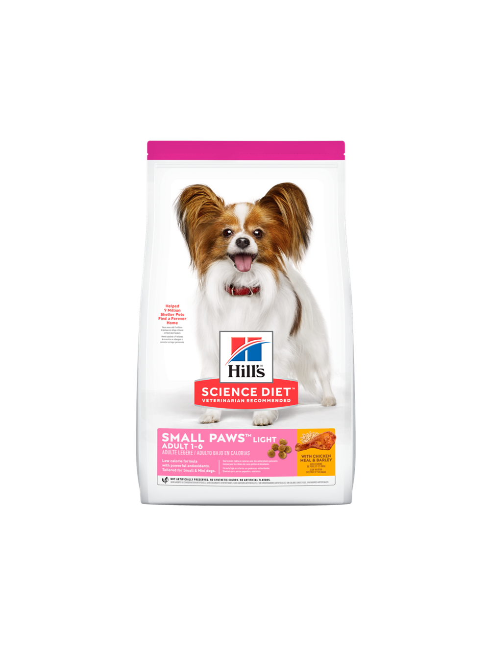Hills Adultos Small & Toy Breed Light 7Kg - Ciudaddemascotas.com