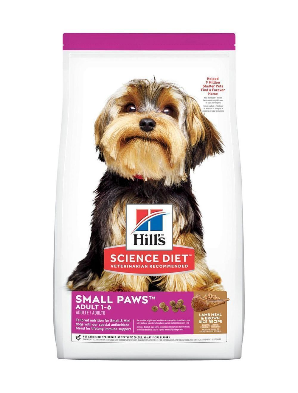 Hills Adultos Small & Toy Breed Lamb and Rice 2 Kg