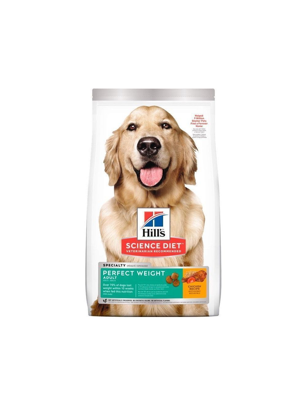 Hills Perro Perfect Weight x 1.8 Kg