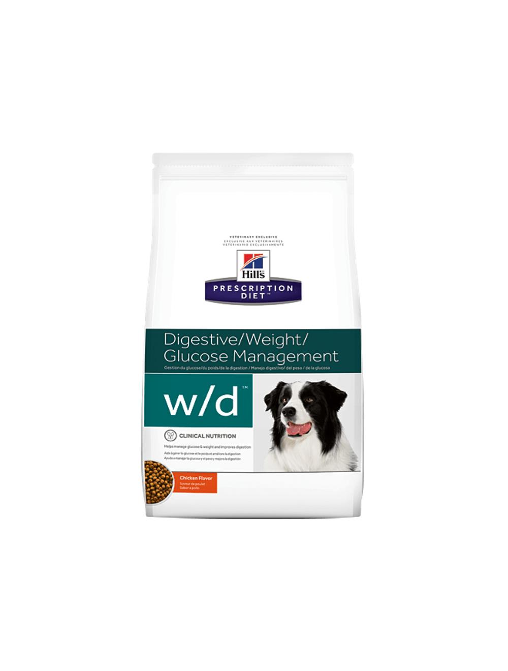 Comida para perro Hill's W/D 1.5 Kg - ciudaddemascotas.com