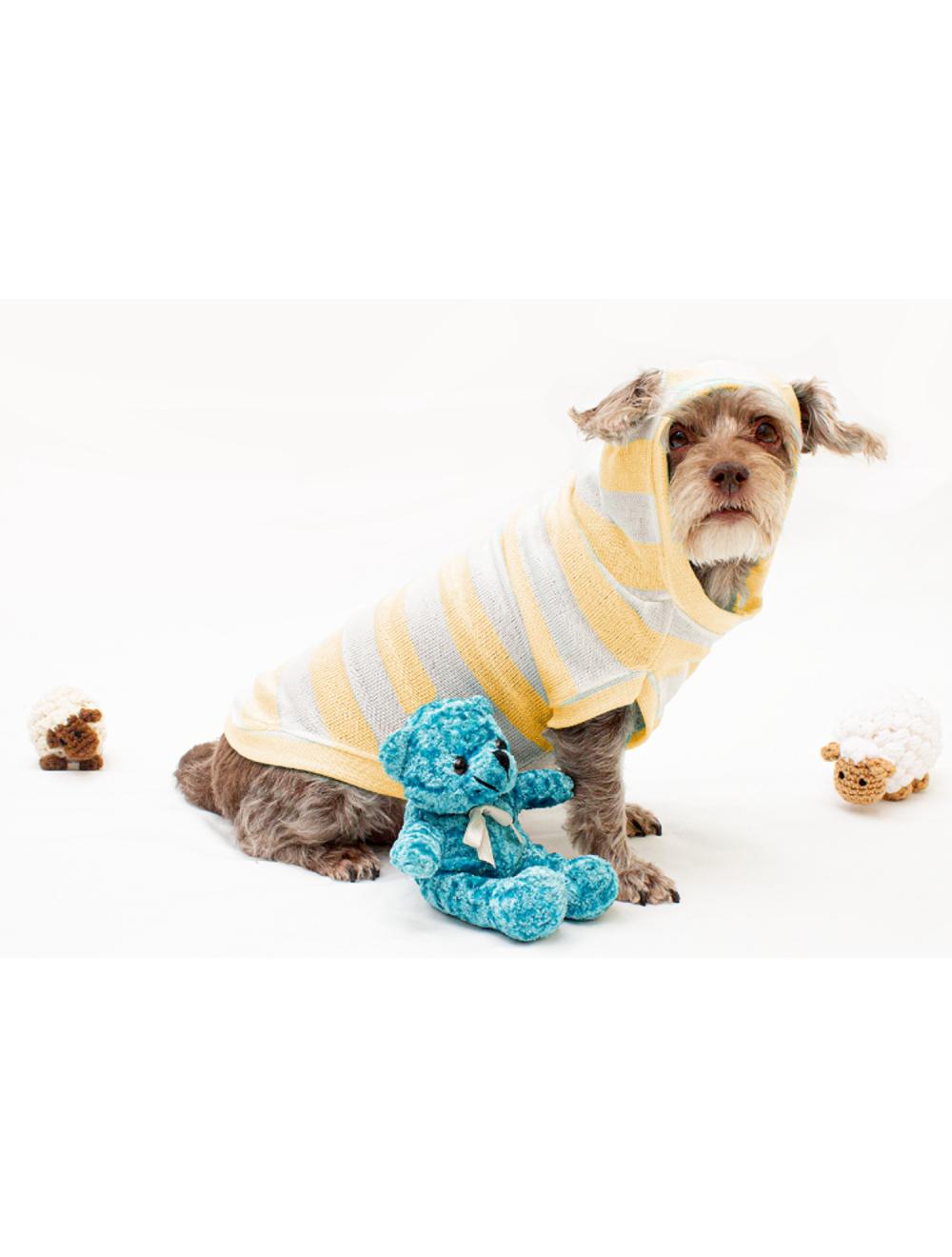 Hoodie Hunter para Perros Amarillo S