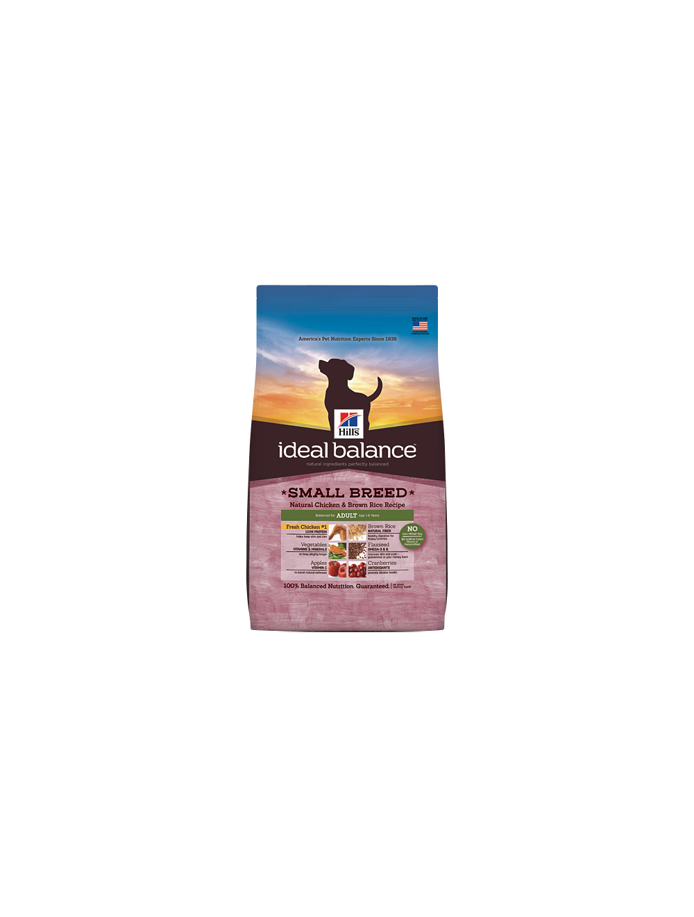 Hill's Ideal Balance Perro Adulto Small Breed Natural Chicken and Brown Rice