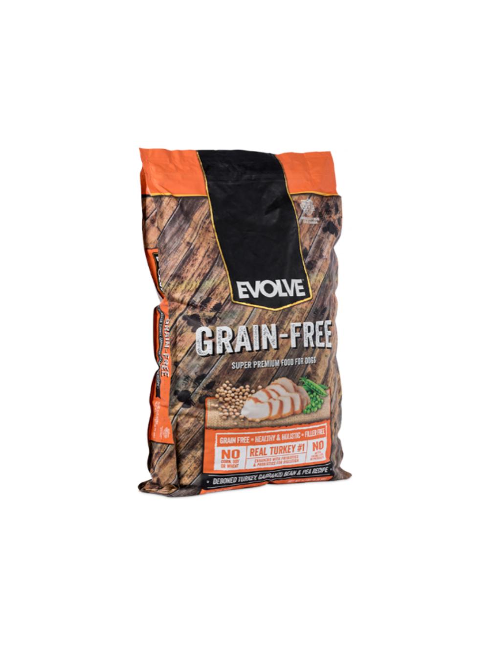 Evolve Dog Grain Free Pavo x 6.35 Kg