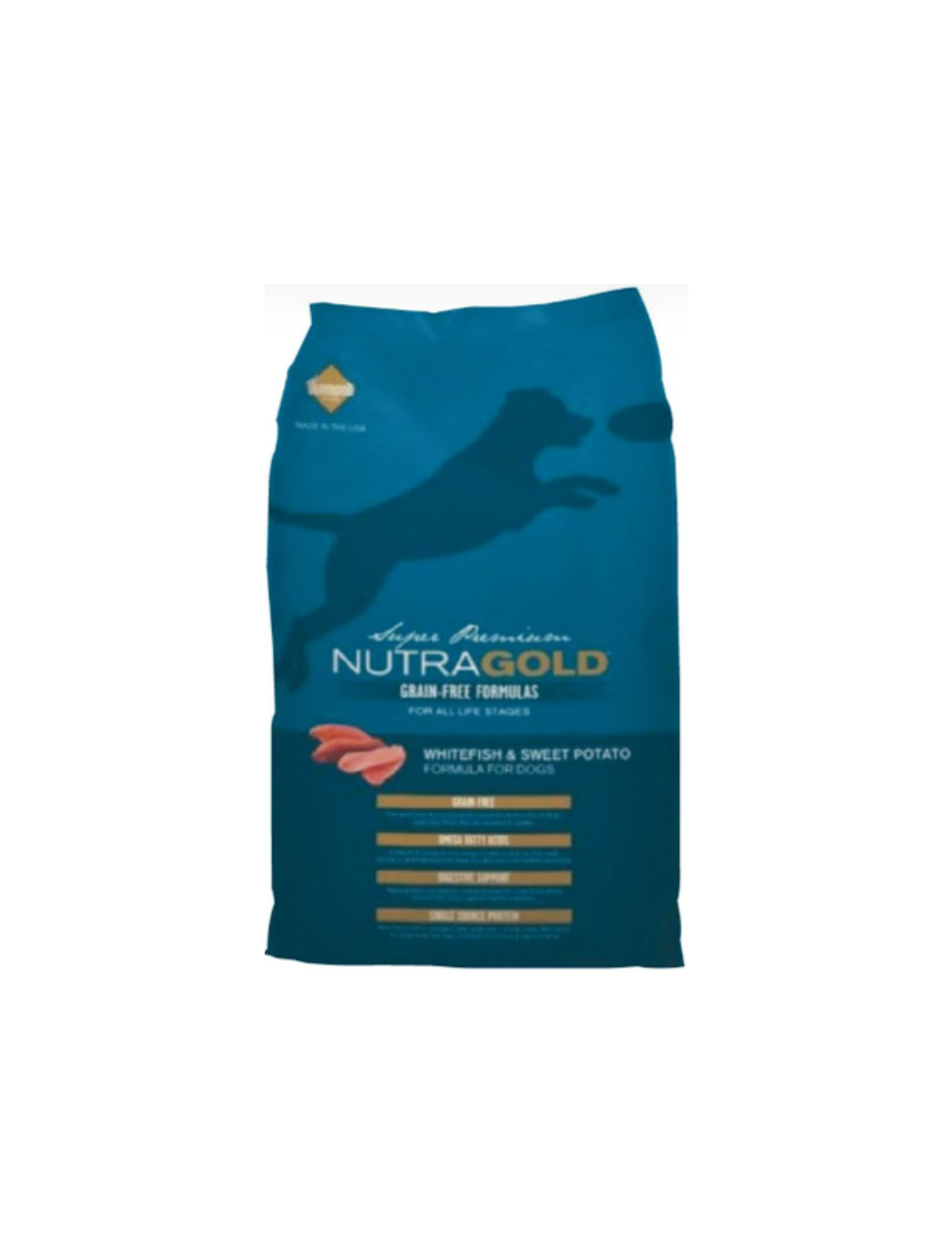Nutra Gold Dog Grain Free Whithefish and Sweet Potato