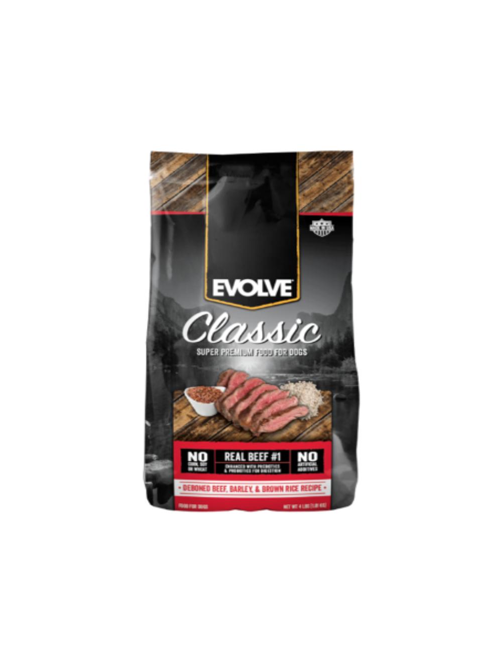 Evolve Dog Classic Beef