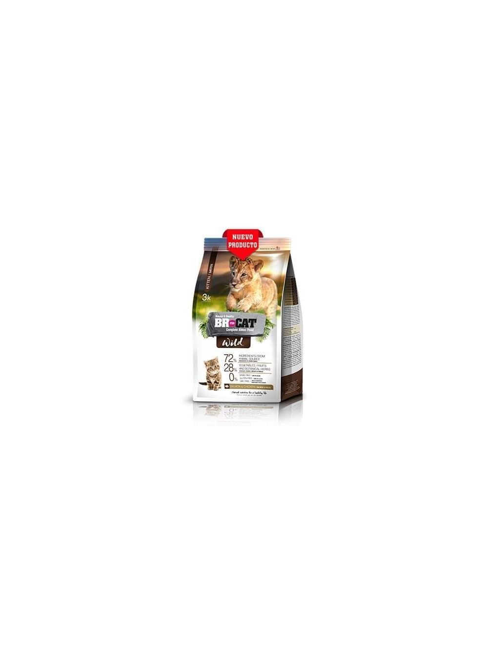 Comida Br For Cat Wild Kitten 3 kg - Ciudaddemascotas.com