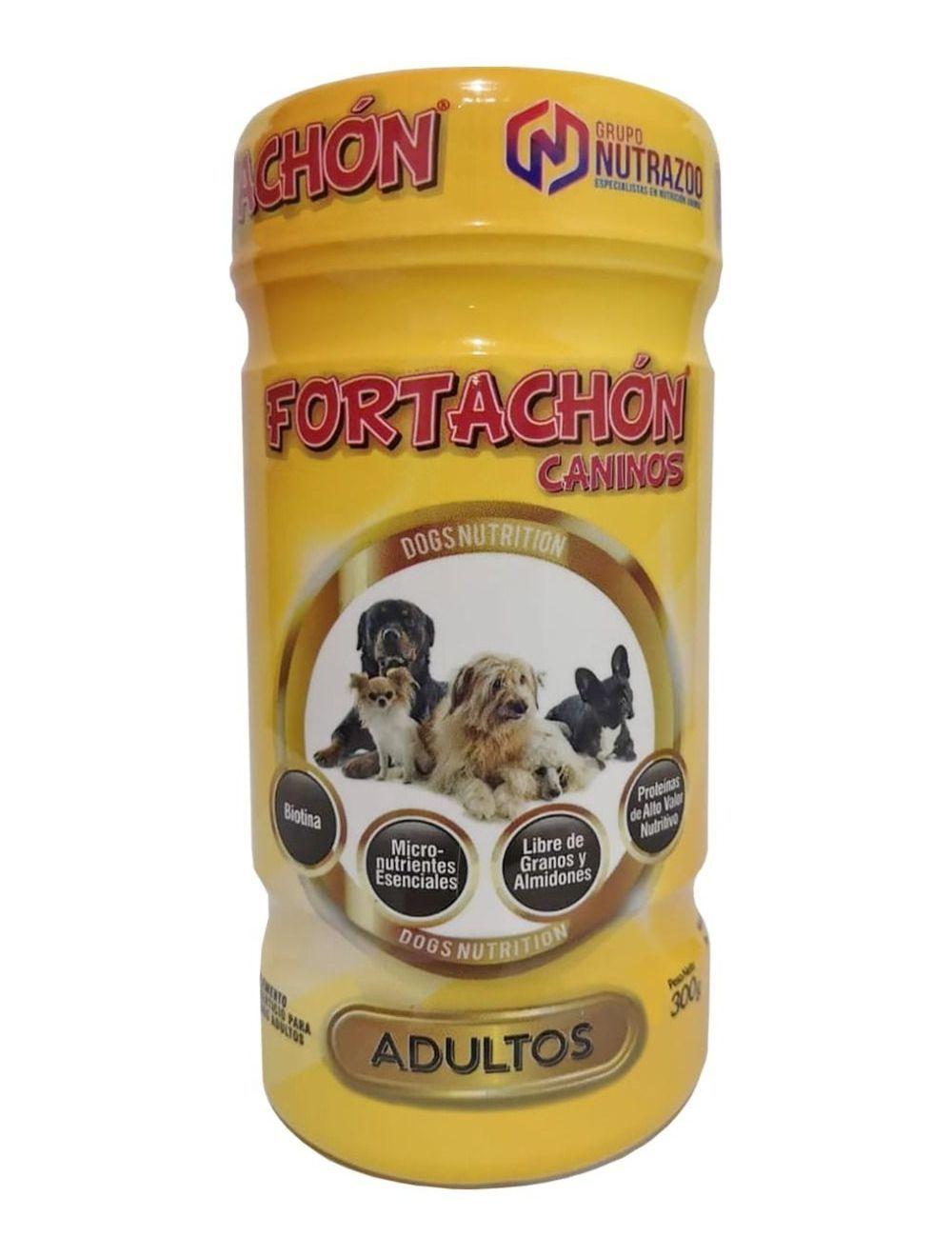 Suplemento Fortachón Perros Adultos 90gr - ciudaddemascotas.com