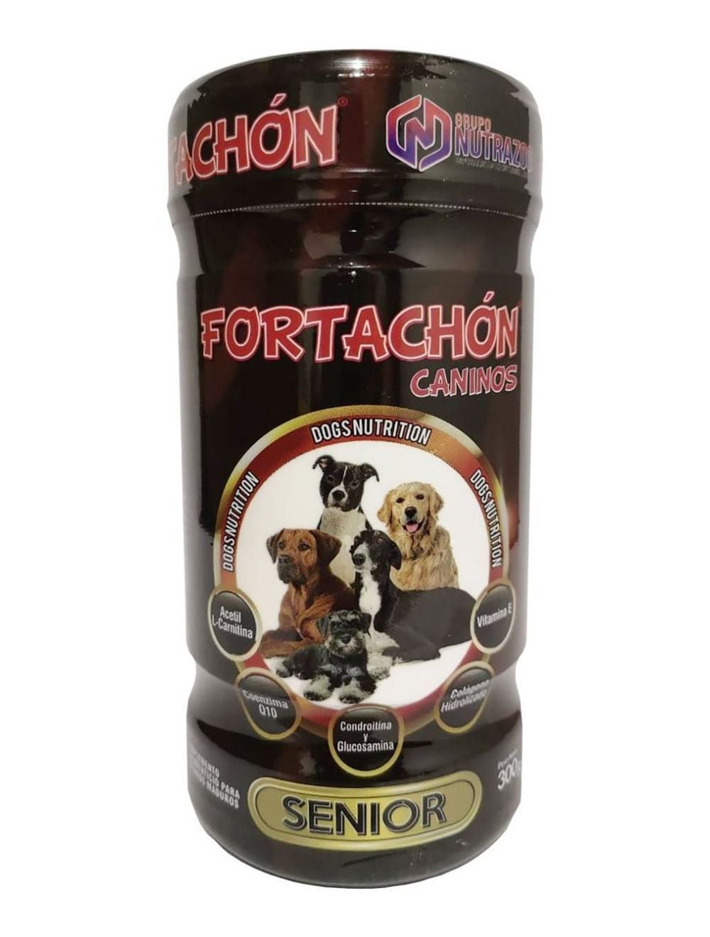 Fortachón Perros Senior de 300gr - Ciudaddemascotas.com
