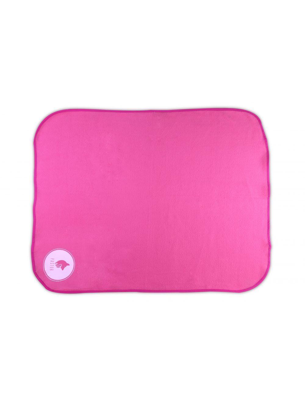 Manta antipulgas rosada talla M