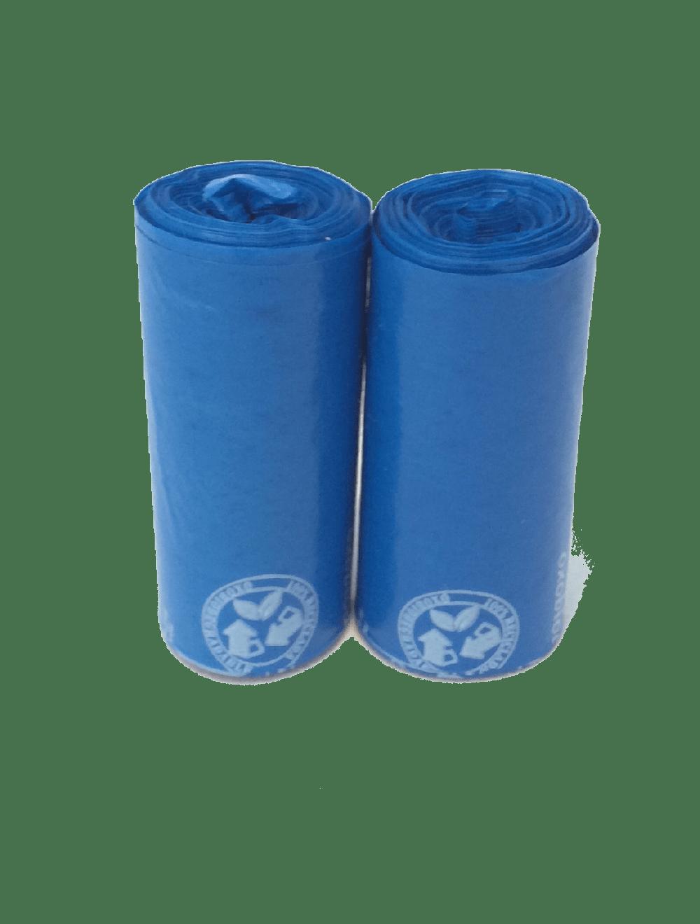 Bolsas Biodegradables X 2 rollos de 100 bolsas - Ciudaddemascotas.com
