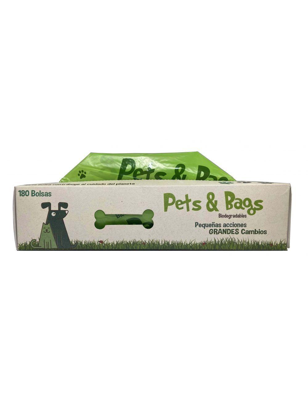 Pets & Bags Bolsas Biodegradables x 180-Ciudaddemascotas.com