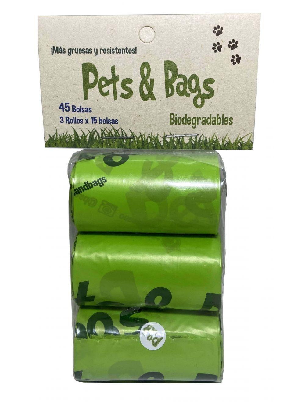Pets & Bags Bolsas Biodegradables rollos-Ciudaddemascotas.com