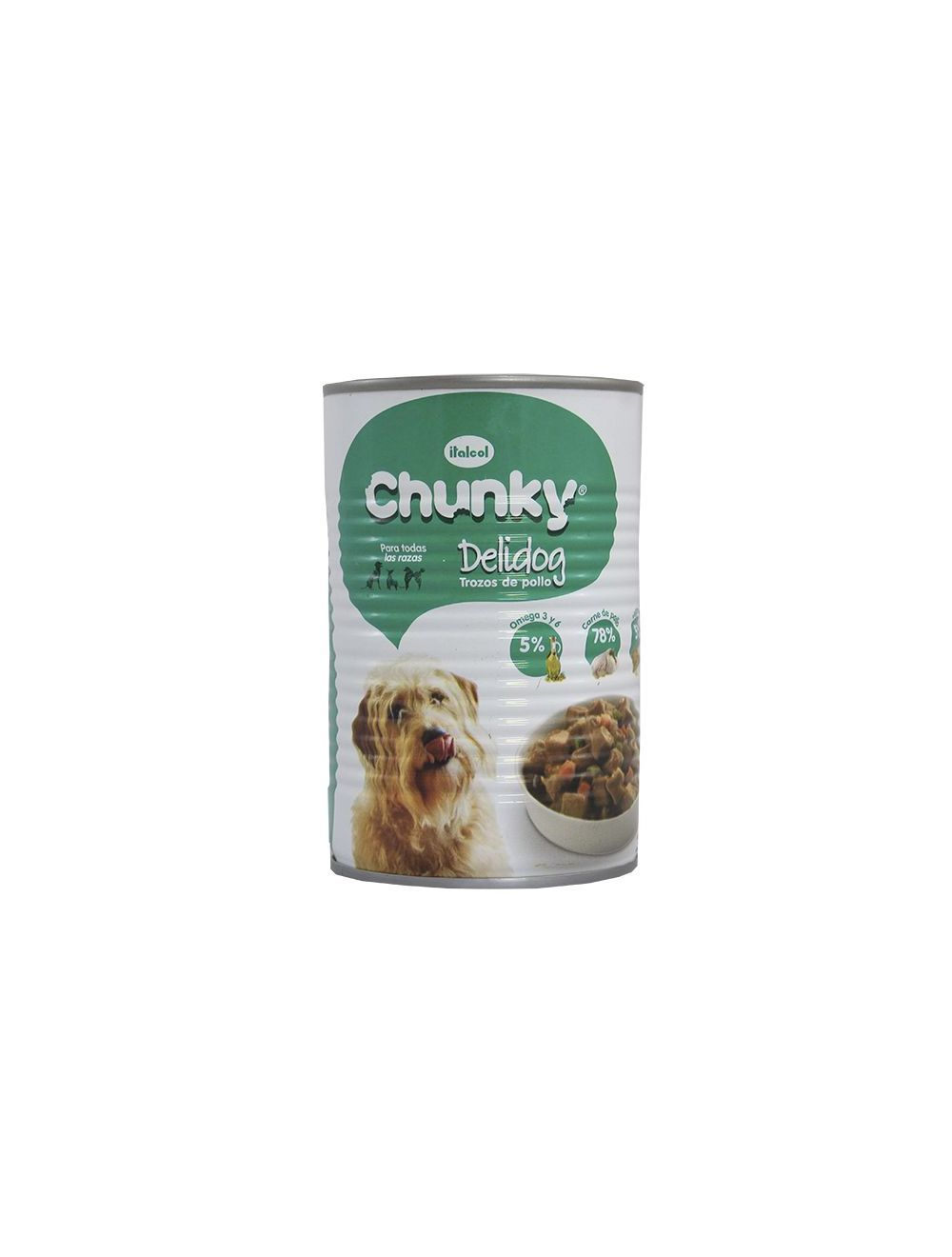Chunky delidog Perros Trozos de Pollo-Ciudaddemascotas.com