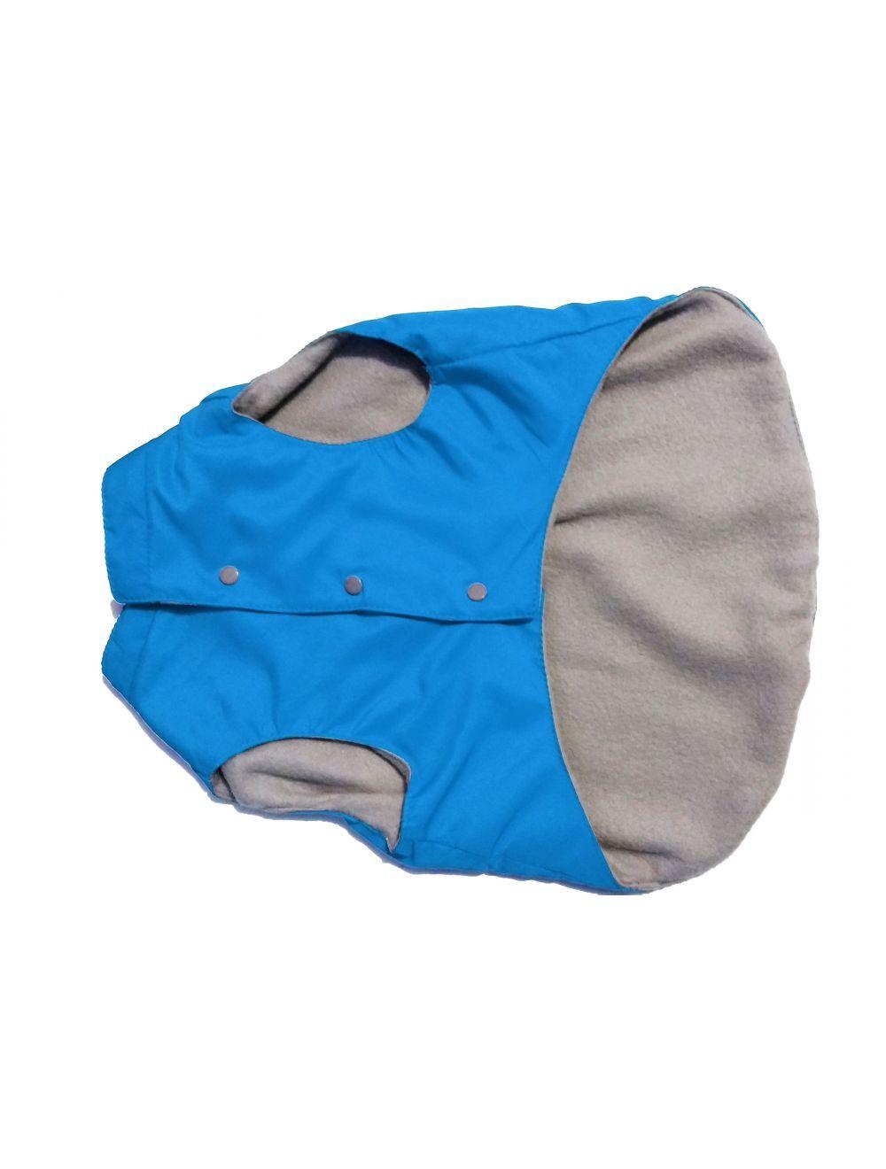 Chaleco impermeable Azul forrado talla M