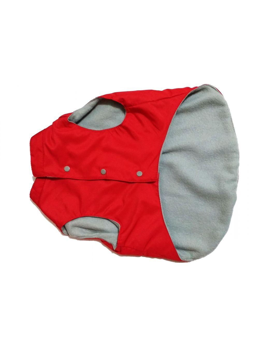 Chaleco impermeable Rojo forrado talla M