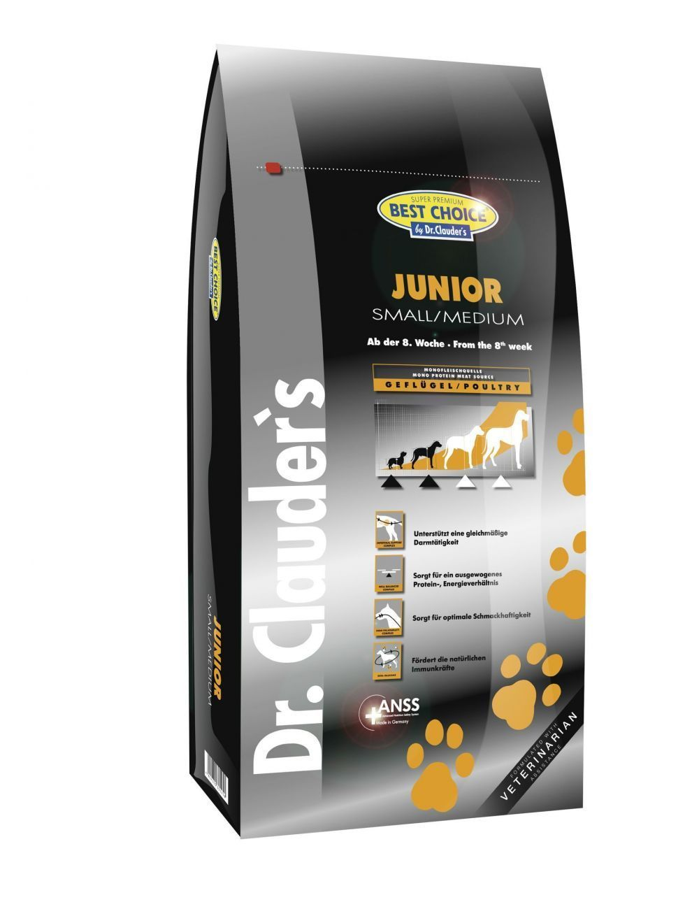Dr. Clauder's DN Junior Small Medium x 12.5 Kg