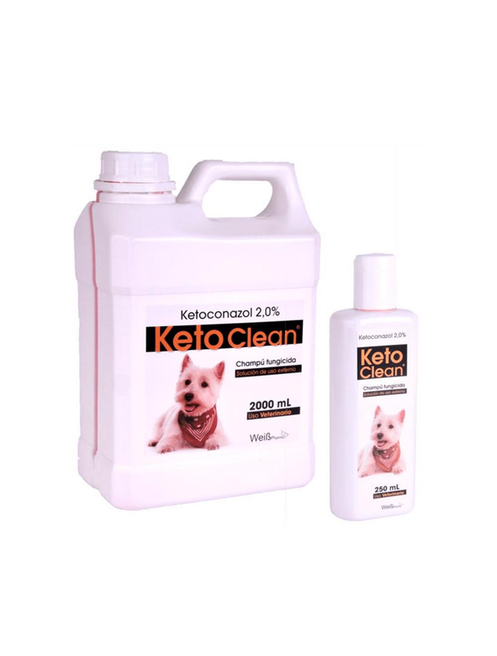 Shampoo Ketoclean para Perros x 250ml - Ciudaddemascotas.com