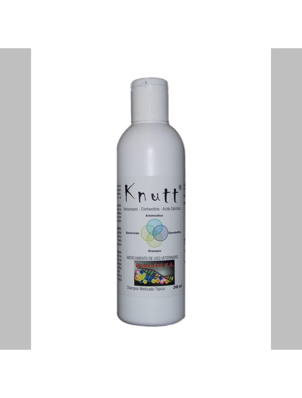 Knutt Shampoo Medicado Tri conjugado 240 Ml
