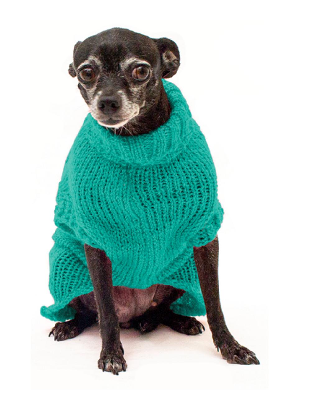 Saco Libby para Perros Aguamarina L