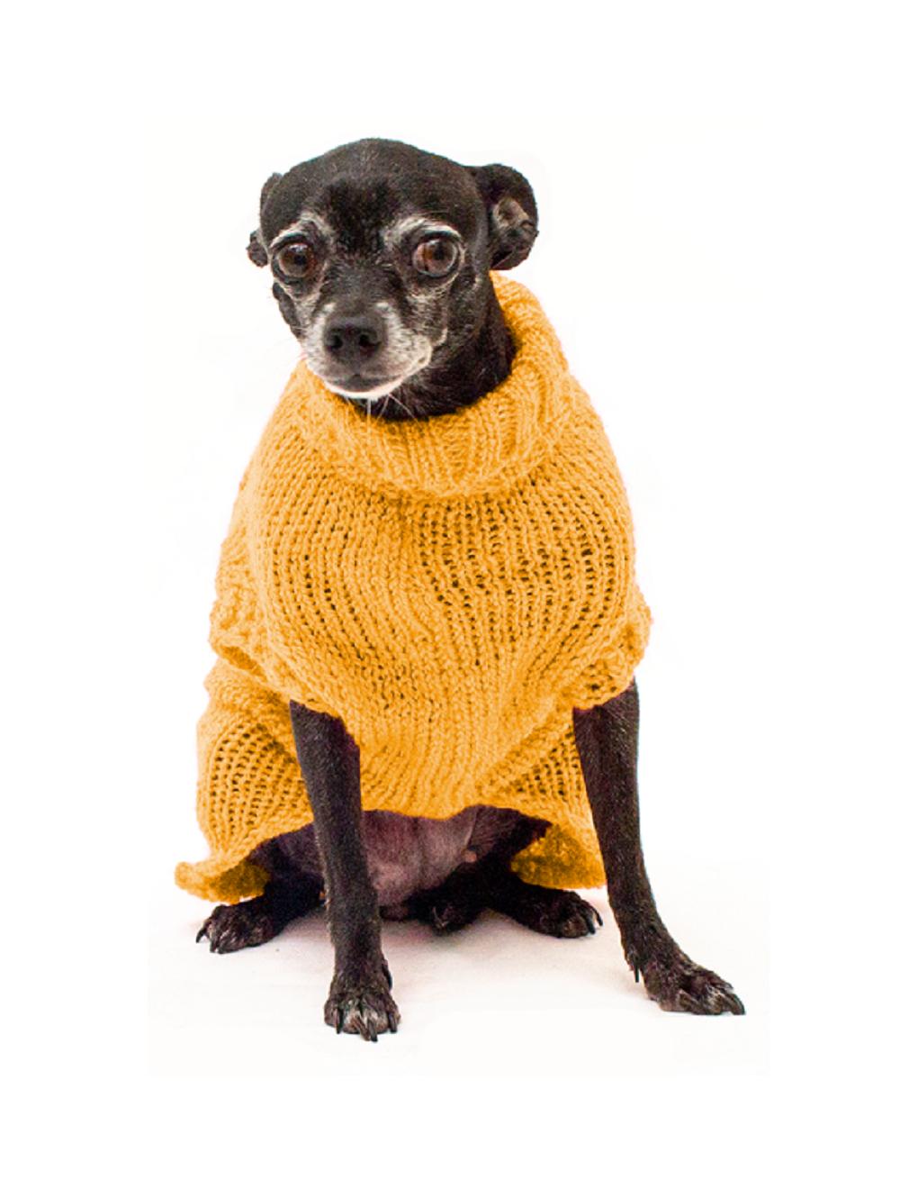 Saco Libby para Perros Amarillo XS