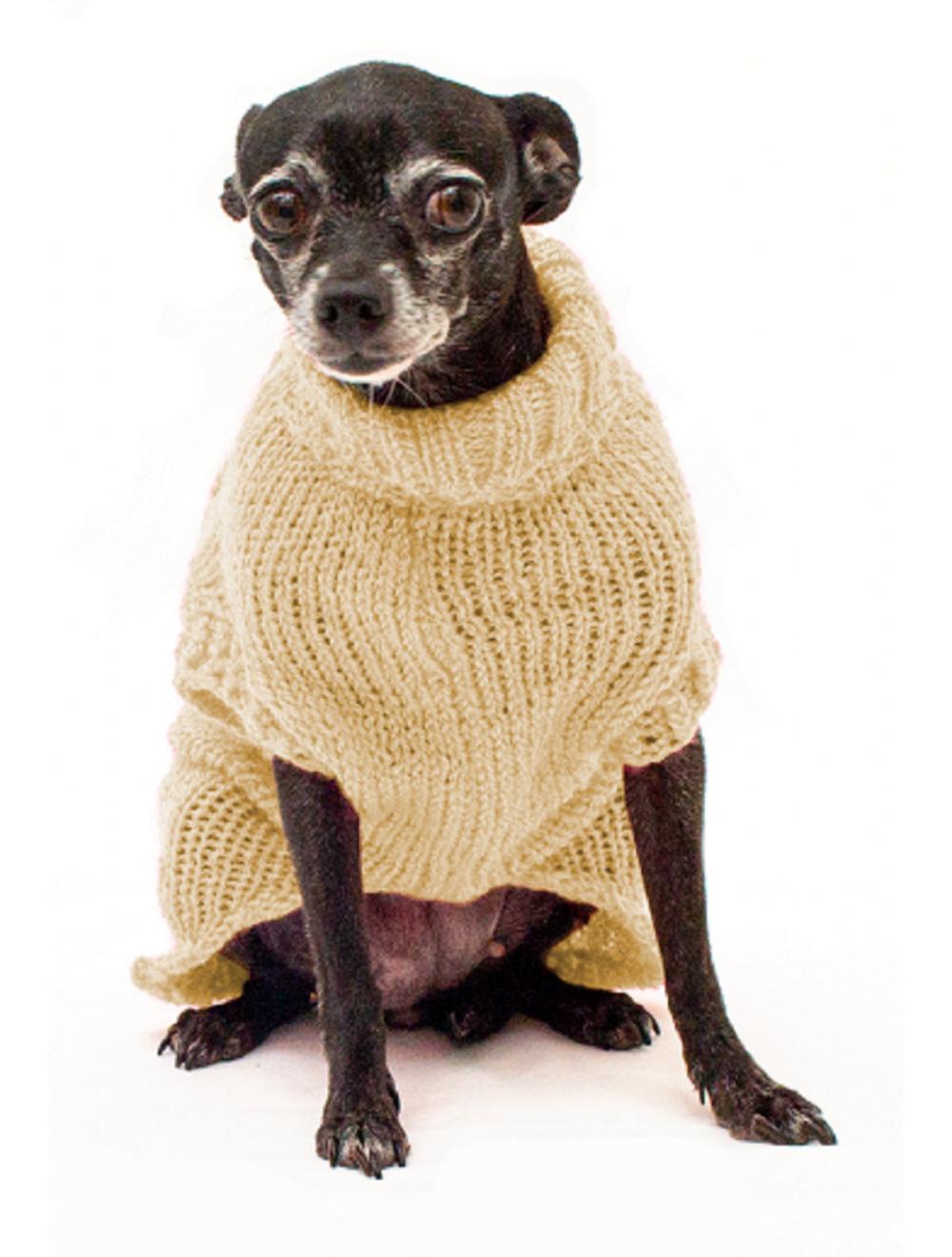 Saco Libby para Perros Beige S - Ciudaddemascotas.com