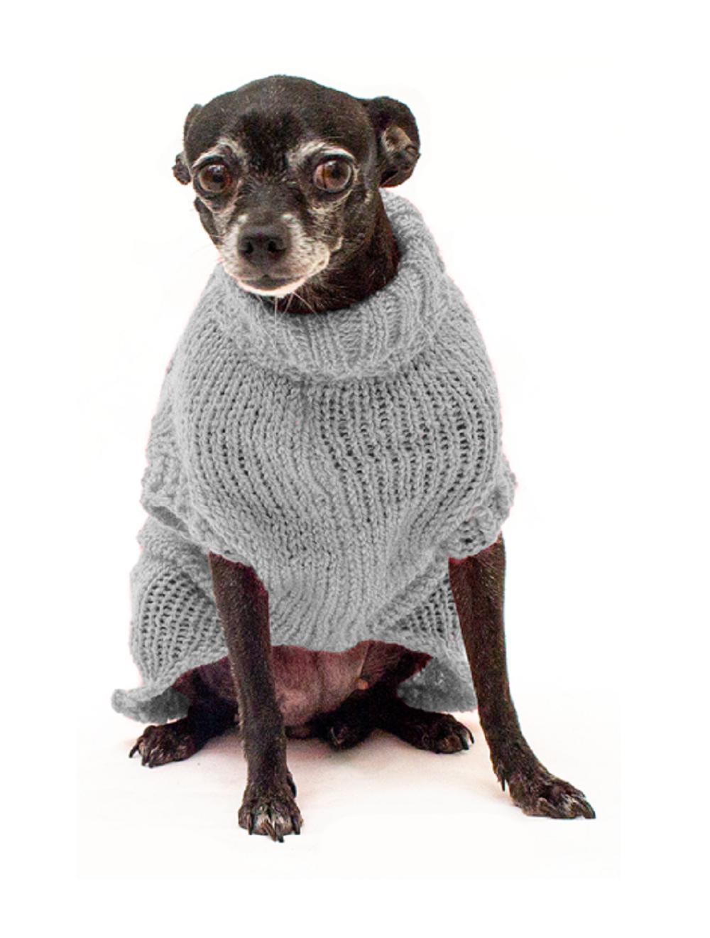 Saco Libby para Perros Gris Claro L - Ciudaddemascotas.com