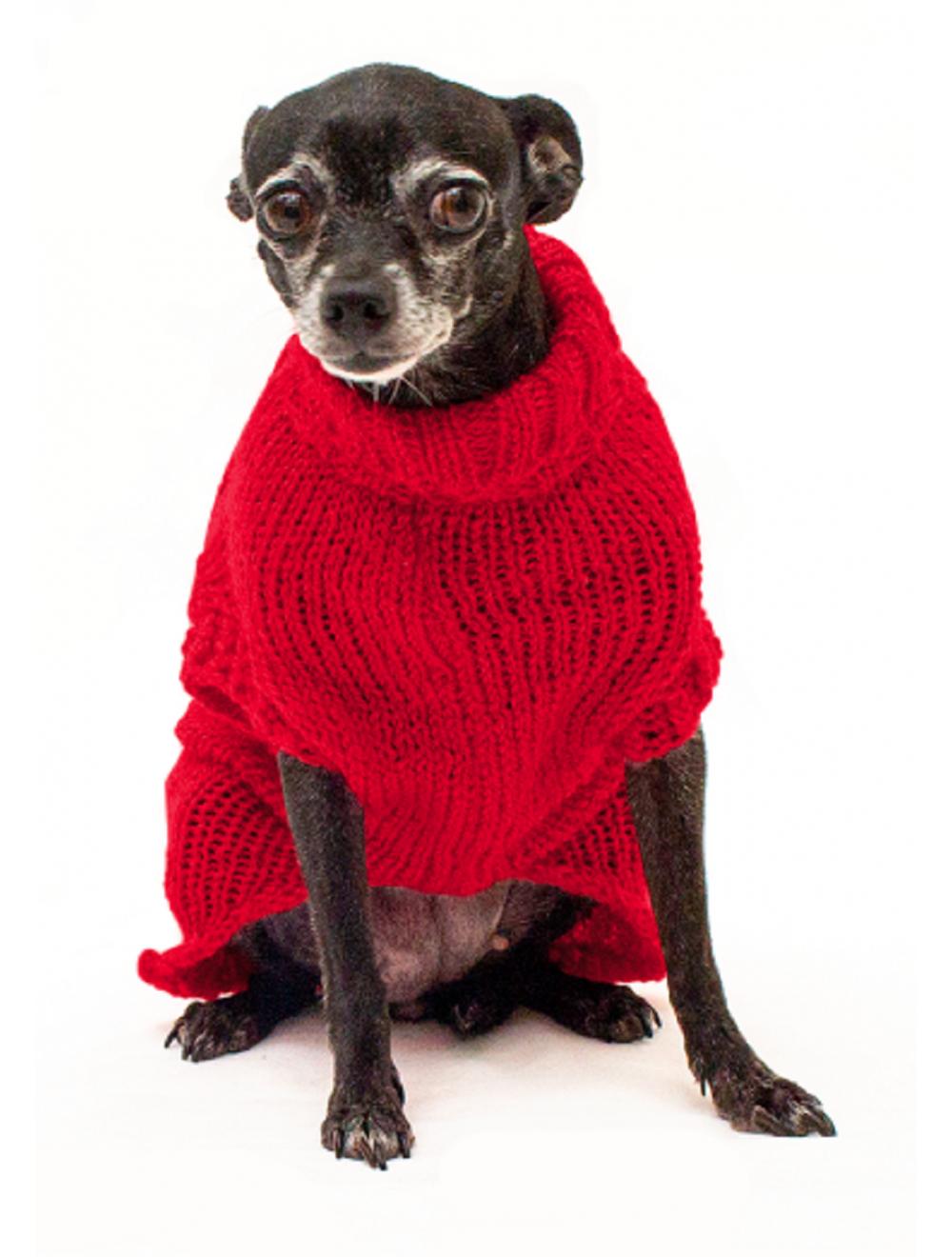 Saco Libby para Perros Rojo Talla XL - Ciudaddemascotas.com