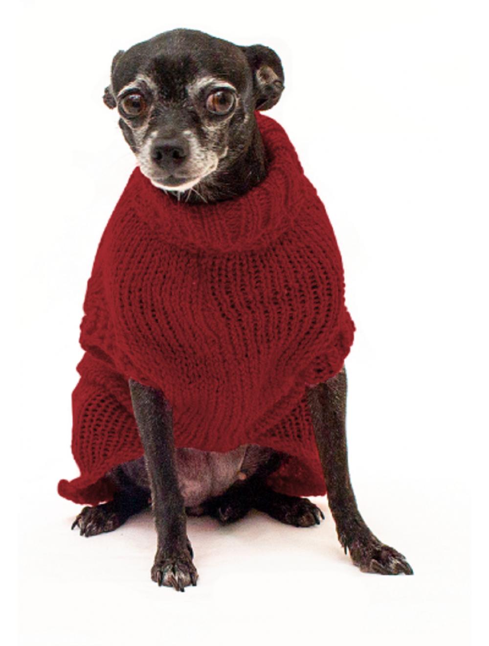 Saco Libby para Perros Vinotinto L - Ciudaddemascotas.com