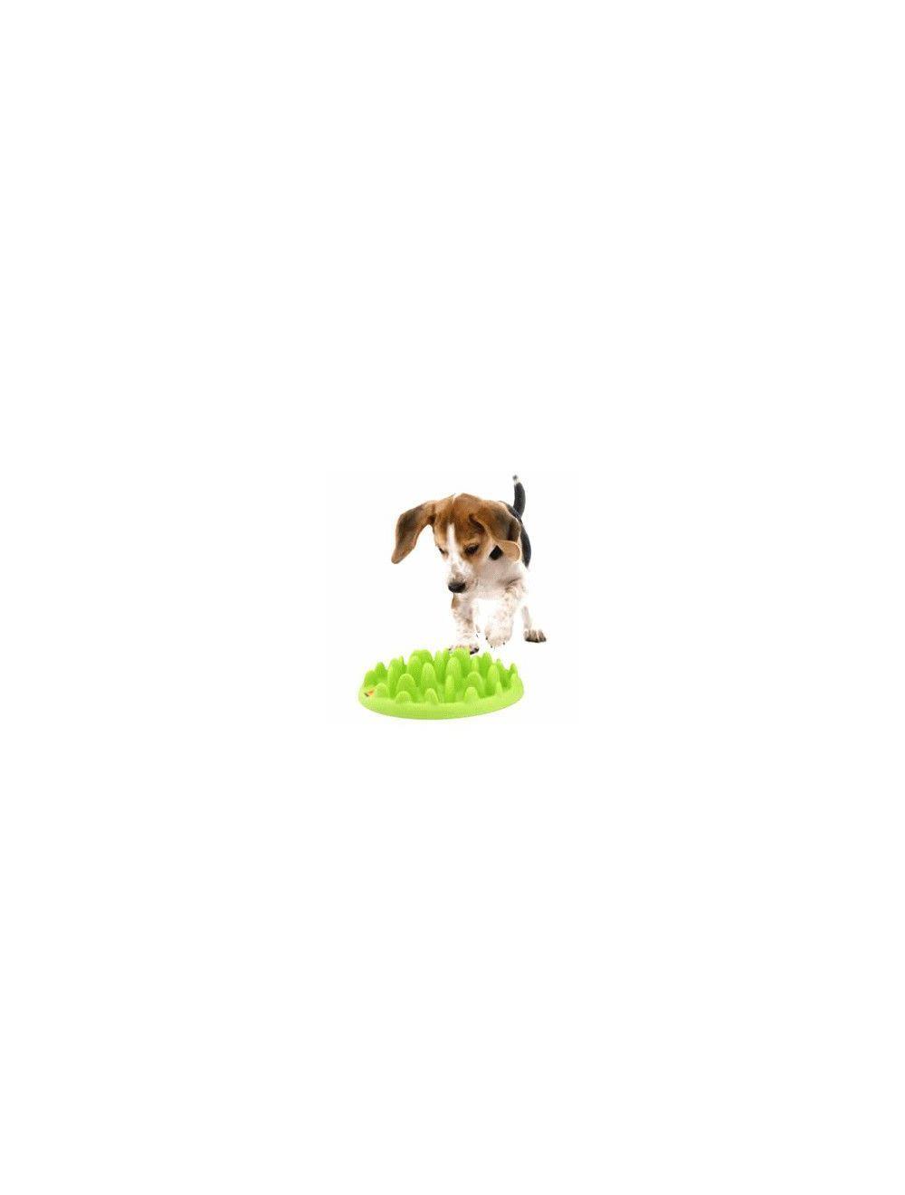 Comedero para perros Green slow feeder S