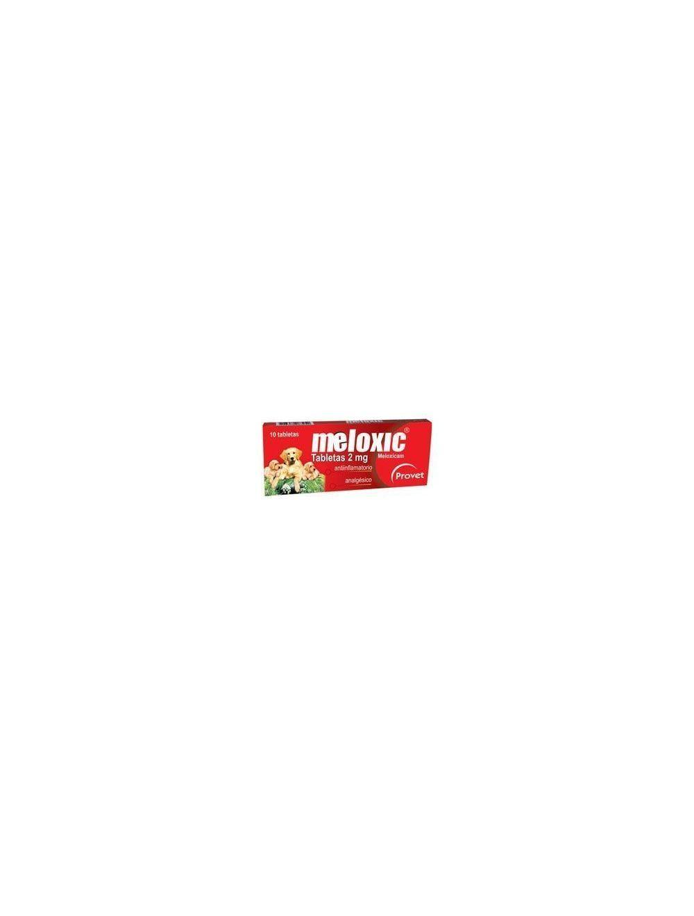 Meloxic 2 mg x 10 tabletas