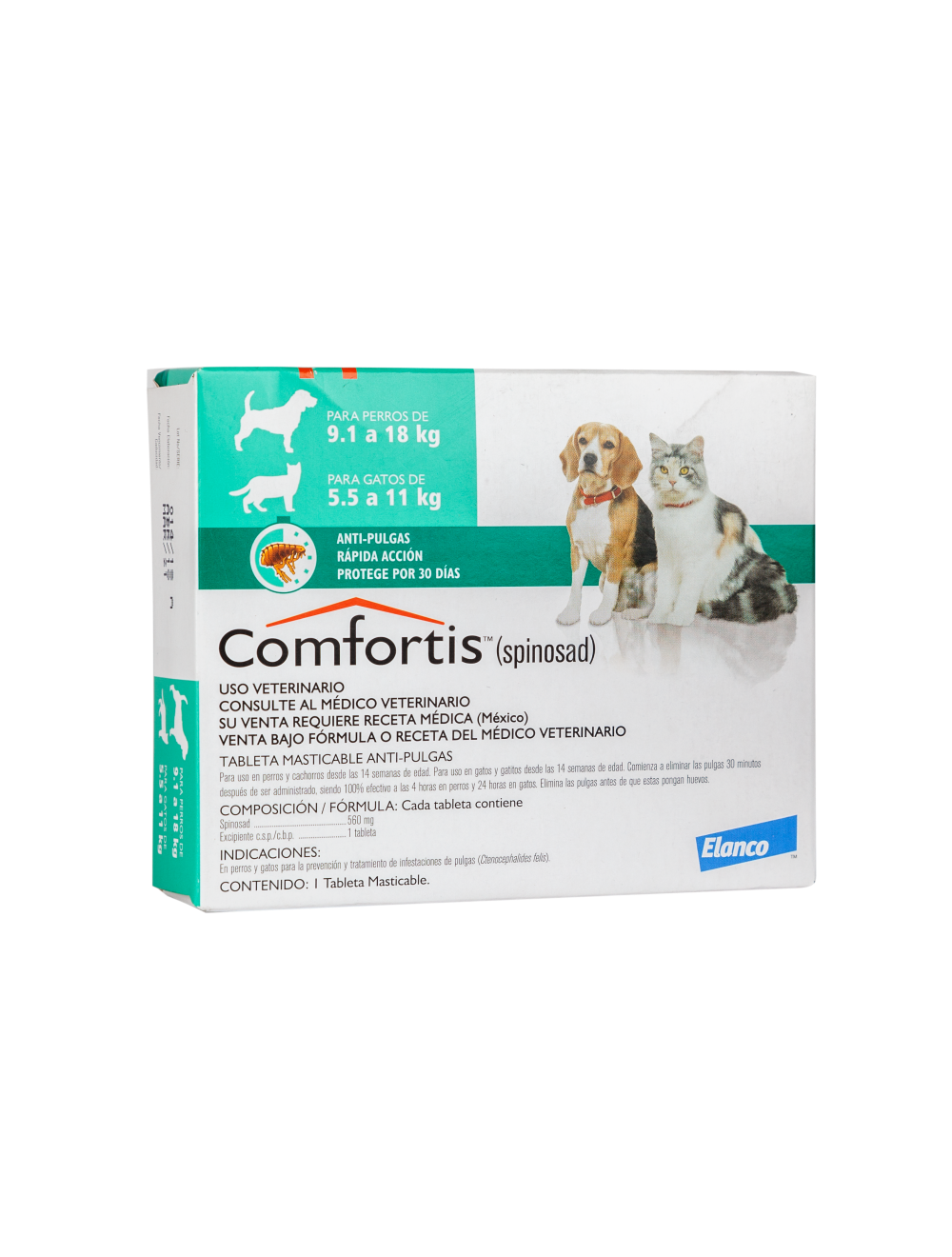 Comfortis Antipulgas para Perros - Ciudaddemascotas.com
