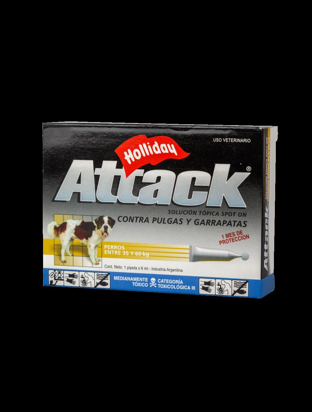 Attack para Perros de 35 a 60 Kg