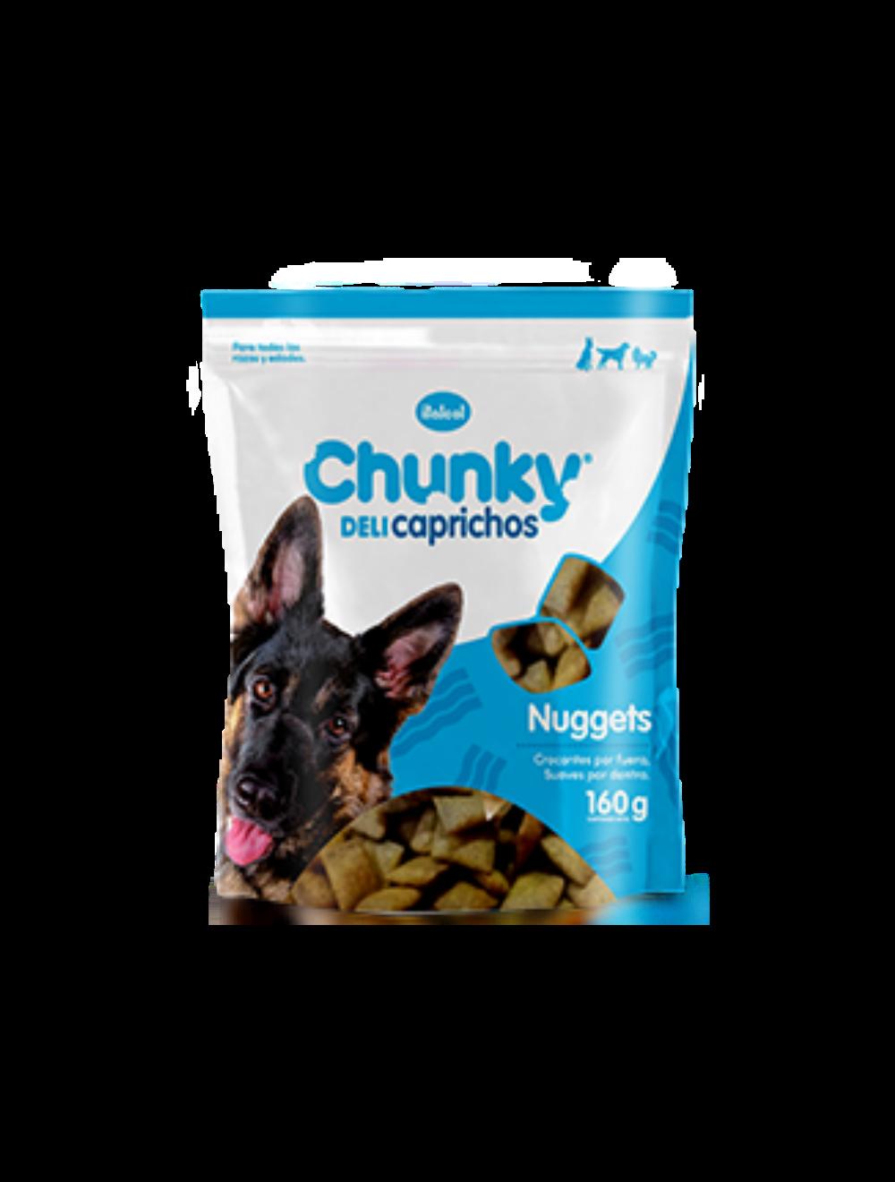 Snacks Chunky Delicaprichos Rellenos de tocineta 160 gr