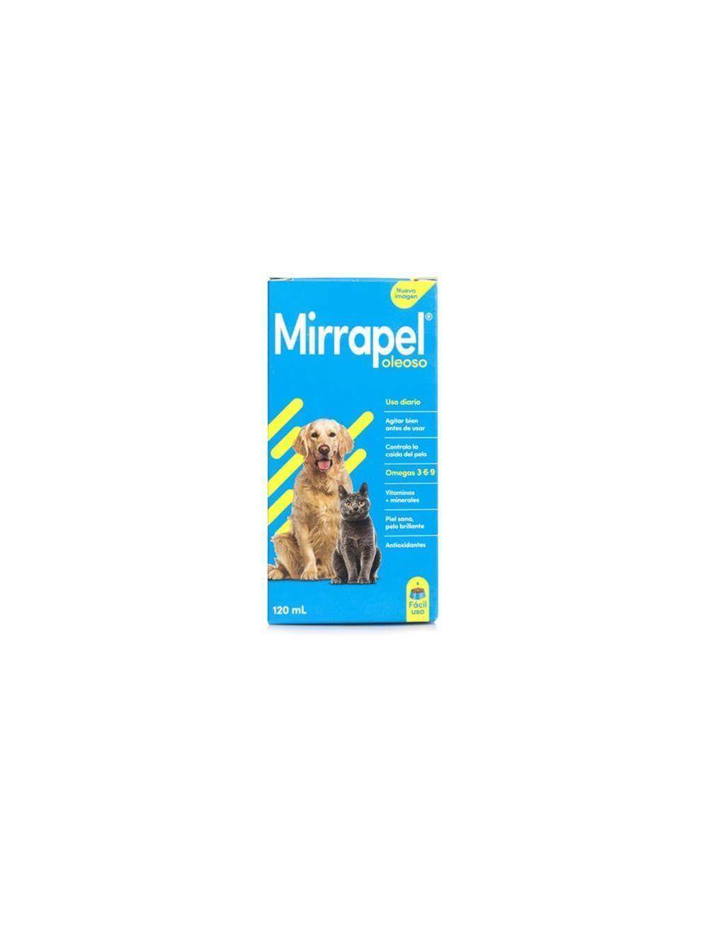 Mirrapel Perros y Gatos Oleoso Suplemento Nutricional (120 Ml) - Ciudaddemascotas.com
