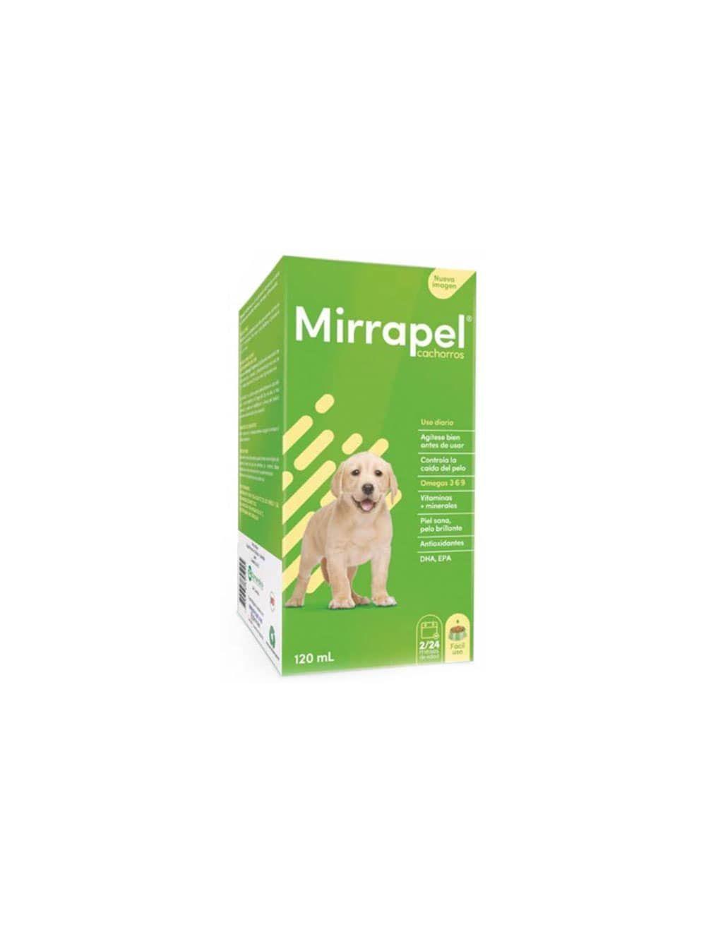 Mirrapel Cachorros Suplemento Nutricional 120 Ml - Ciudaddemascotas.com