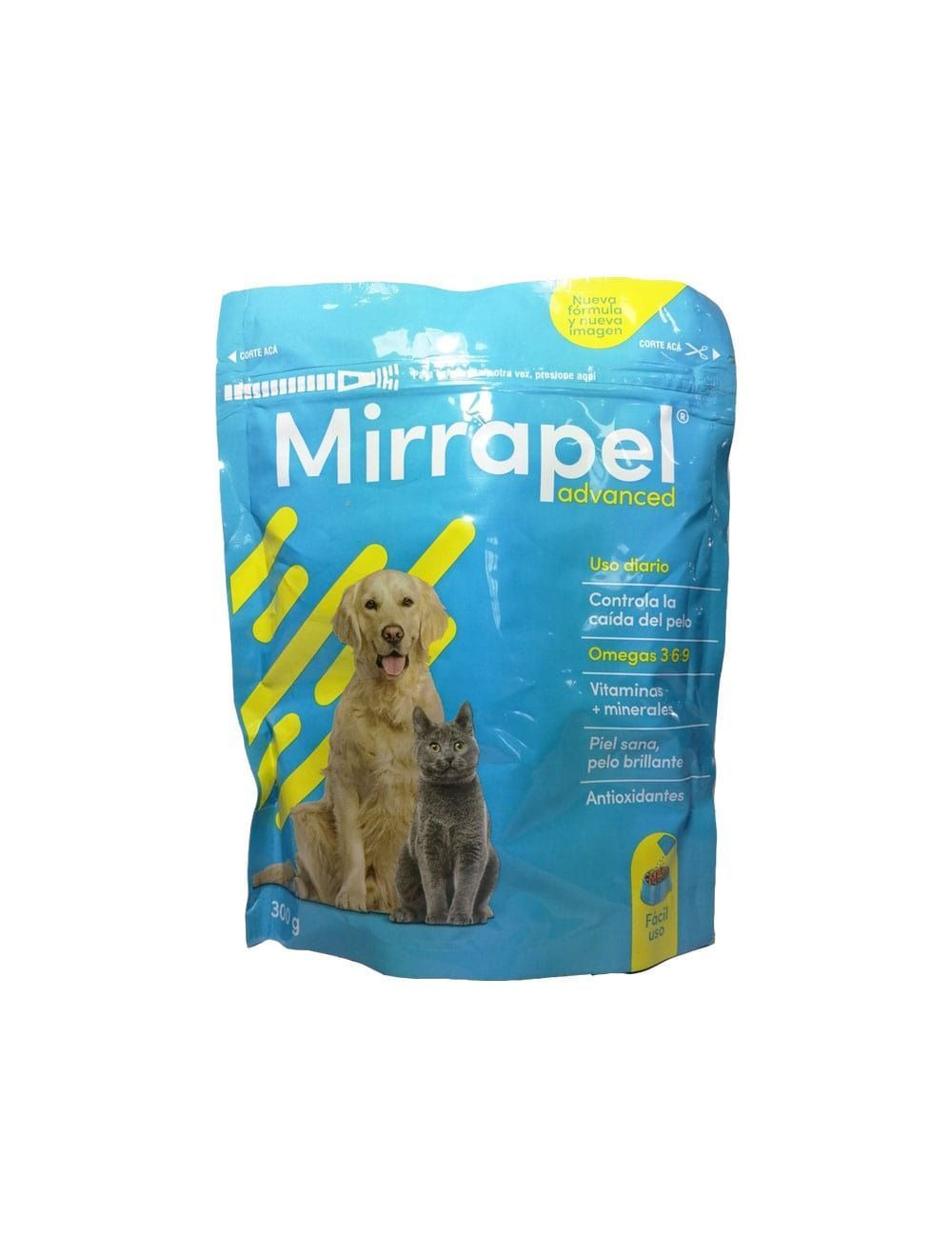 Mirrapel Perros y Gatos Polvo Suplemento Nutricional (300 g) - Ciudaddemascotas.com
