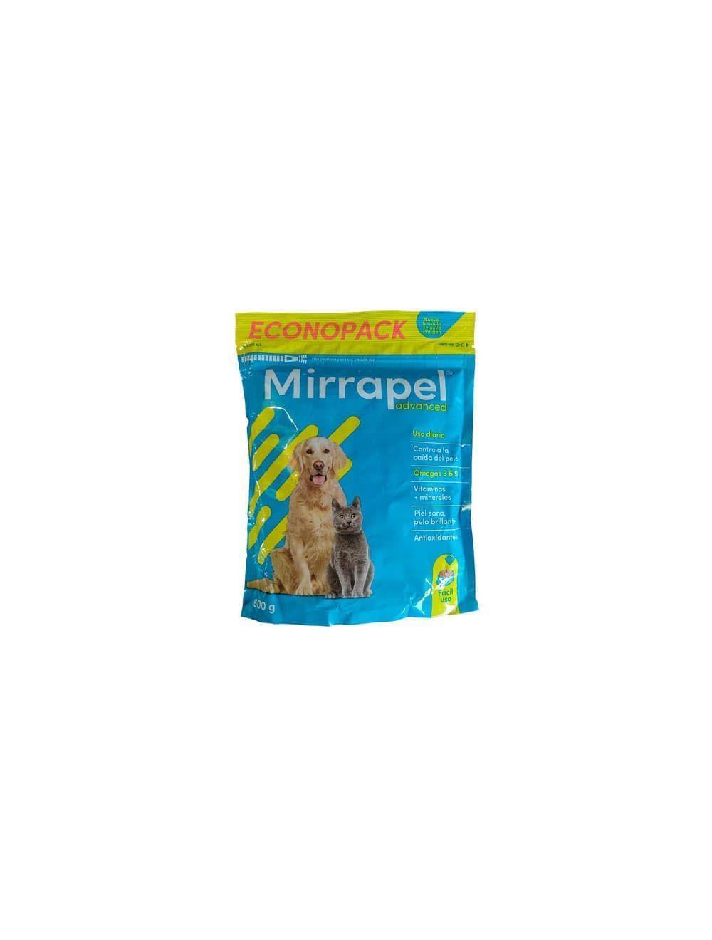Mirrapel Perros y Gatos Polvo Suplemento Nutricional (600 g) - Ciudaddemascotas.com