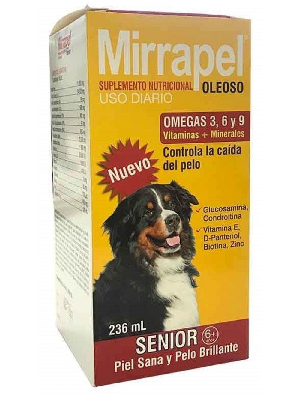 Mirrapel Perros Senior x 236 ml