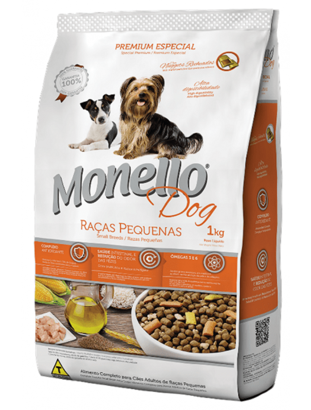 Monello Dog Adulto Raza Pequeña 25 kg