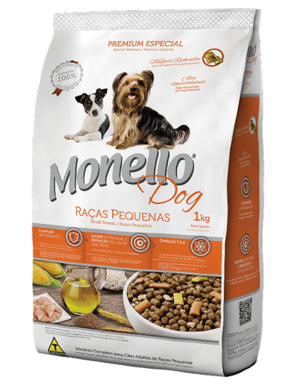 Comida para perro Monello Adulto Raza Pequeña - Ciudaddemascotas.