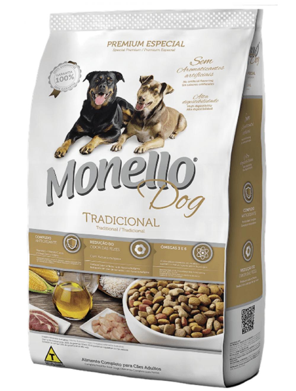 Monello Dog Adulto Tradicional 15 kg - Ciudaddemascotas.com