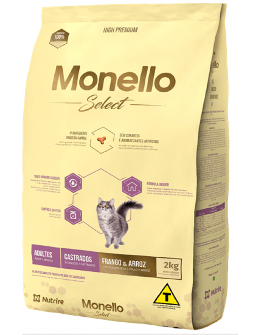 Monello Select Cat Adulto Castrado