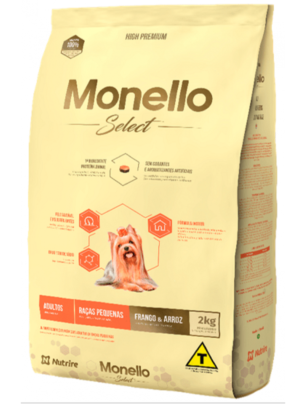 Monello Select Dog Adulto Raza Pequeña 7 kg