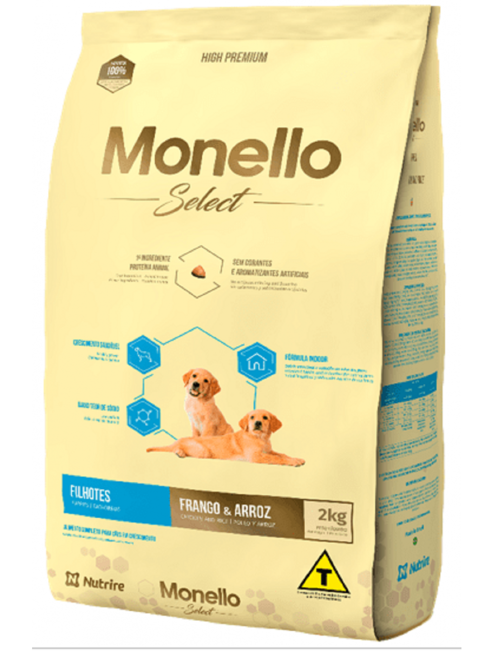 Monello Select Dog Puppy 2 kg - Ciudaddemascotas.com
