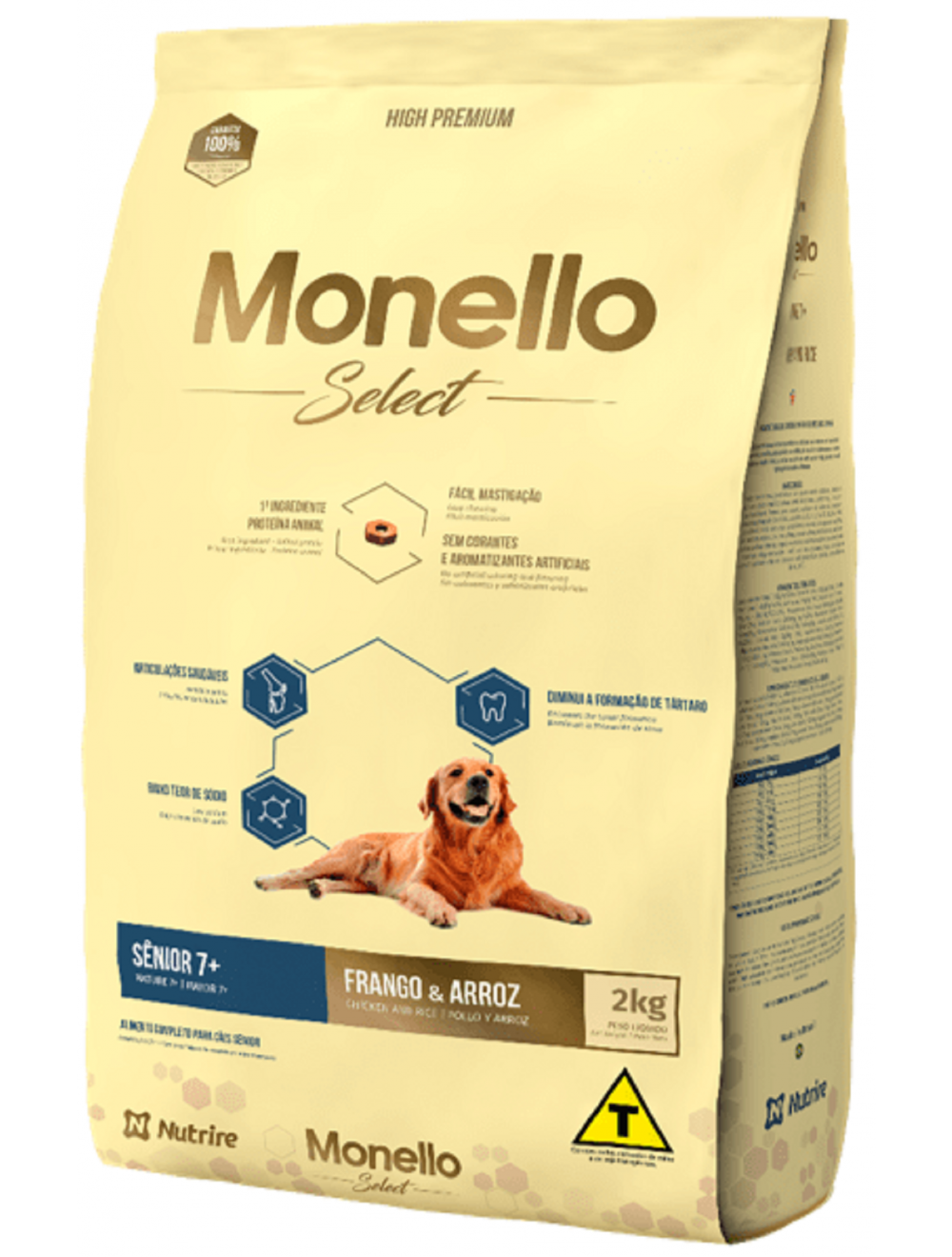 Monello Select Dog Senior 7+ 7 kg