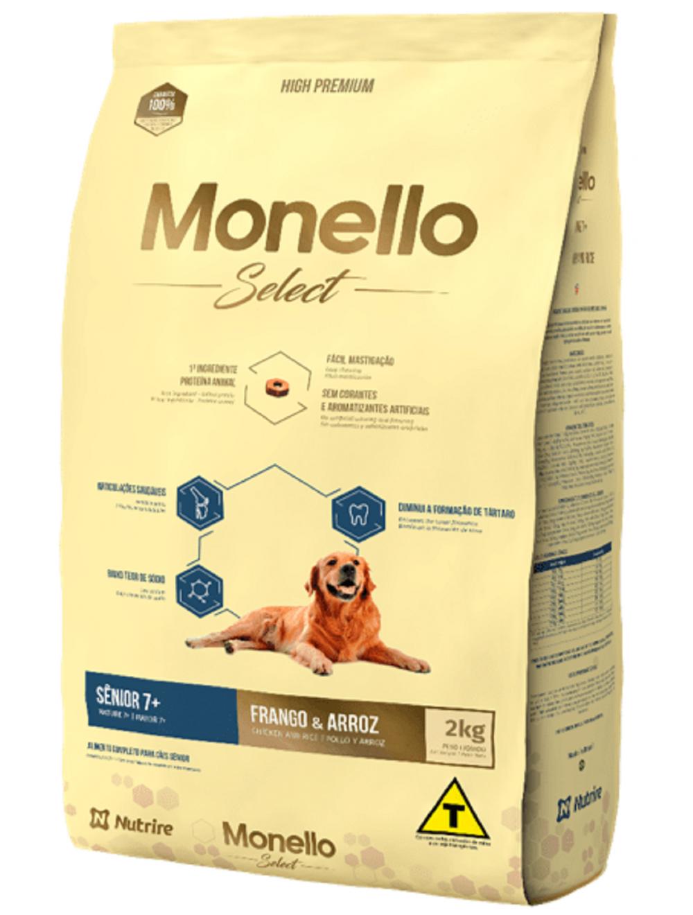 Comida Monello Select Dog Senior 7+ - Ciudaddemascotas.com