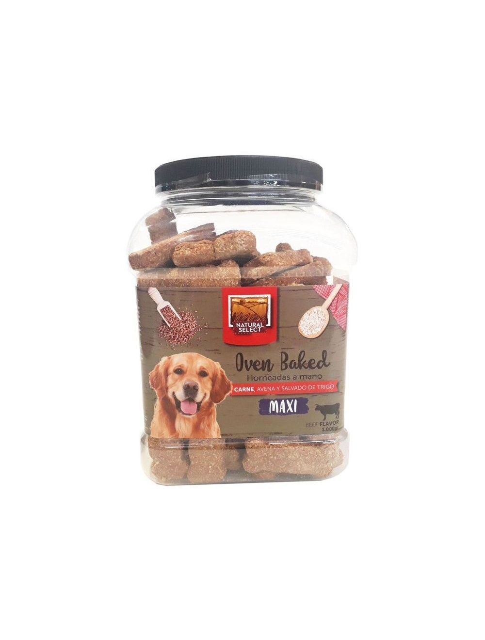 Galletas Natural Select Maxi Bombonera 1 Kg