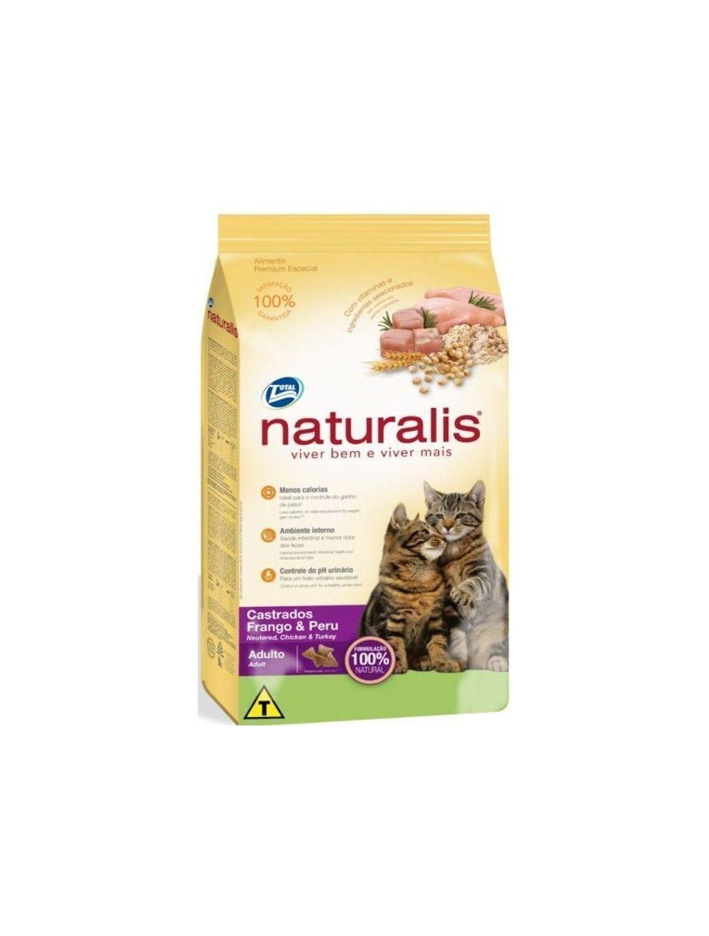 Comida para Gatos Naturalis Adulto Castrado-Ciudaddemascotas.com