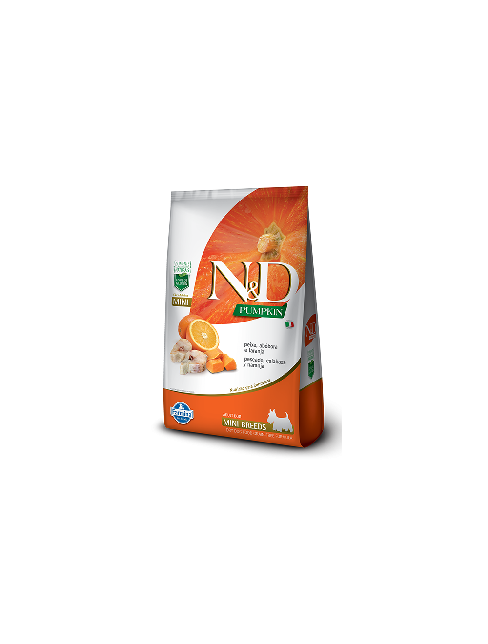 N&D Pumpkin Adult Mini Peixe 2.5 Kg