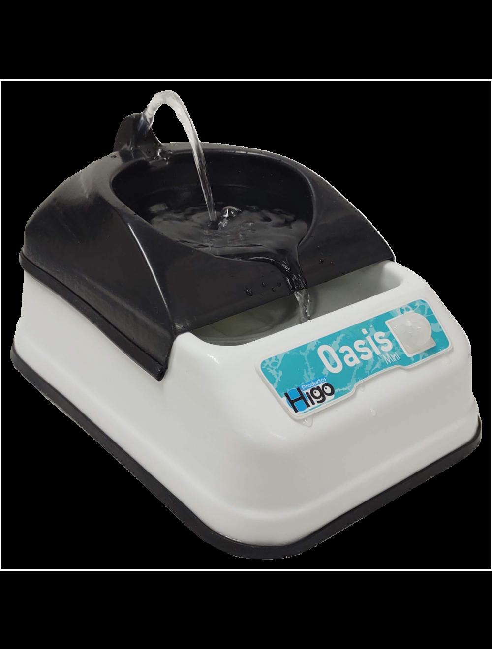 Bebedero Con Sensor de Movimiento Oasis Mini Negro